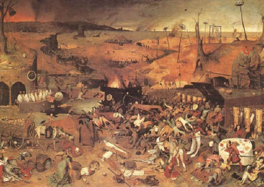The triumph of death courtesy of pieter brueghel my second favorite