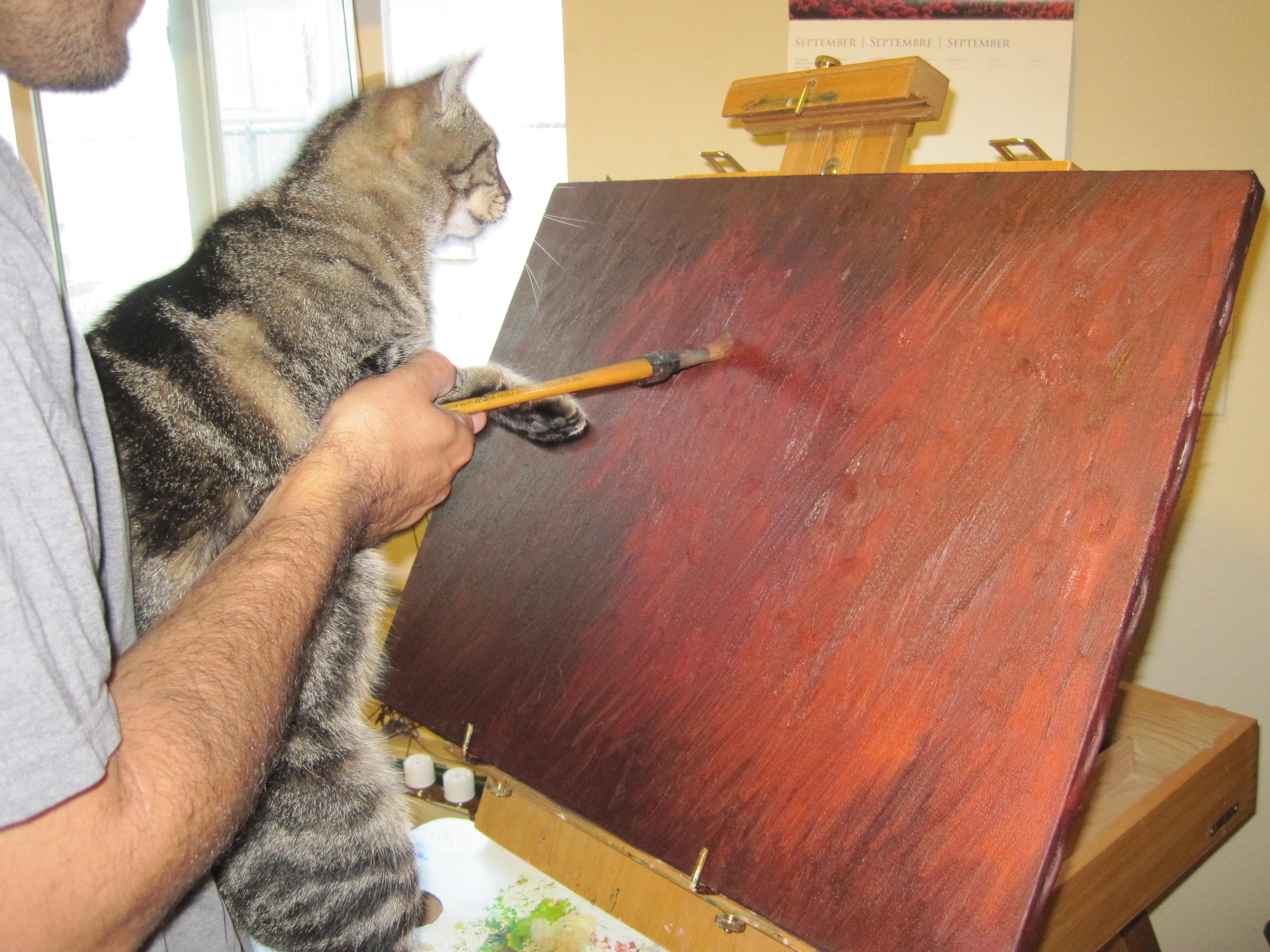 Mimi the Painter