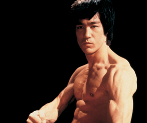 Me and Bruce Lee...I see a faint resemblance?