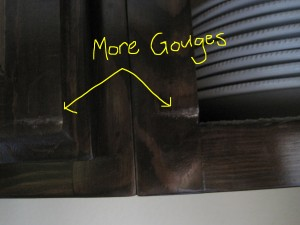 More Gouges