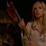 Buffy with axe